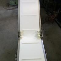 """Z-образный ленточный конвейер, изготовление """"под ключ"""" от разработки до запуска оборудования, заказ выполнялся для ООО """"Якобс Рус"""""""